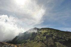 Au volcan Kawah Ijen, sur l'île de Java.