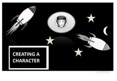 Creative Writing- creating a character...