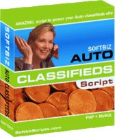 Priced at 99.00USD Less Discount - SEO Auto Classifieds Script by Softbiz Solutions.  pstrongSEO Auto Classifieds script/strong (Car Classifieds script) is a Search Engine Friendly, POWER PACKED , low cost, High end and COMPLETE Auto classifieds / Car Classifieds web site solu....Check Out Discounts at http://getdiscountcouponcode.com/SOFTBIZS/seo-auto-classifieds-script.htm