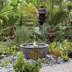 Backyard Ideas, Inspiring and Simple Water Fountain Designs