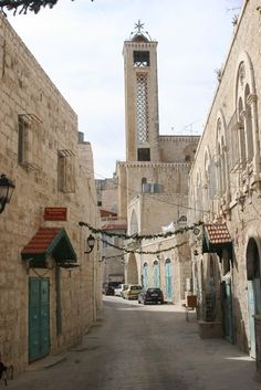"Old City, Bethlehem Bethlehem means ""house of bread"" Jesus is the Bread of Life."