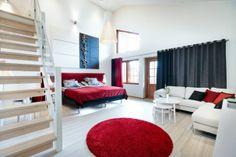 Sehr modern & Koivulahden Rapukartano in Hotels, Restaurant, Contemporary, Modern, Corridor, Bedroom, Villas, Cottages, Stylish