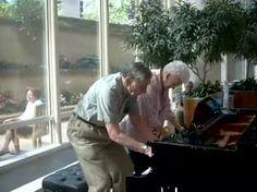 Grandpa And Grandma Play Piano