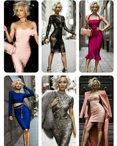 Fashion a la Marilyn Monroe