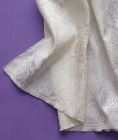 From chiffon to voile, learn the ABCs of choosing the material that suits your Big Day style. Wedding Fabric, Diy Wedding, Wedding Gowns, Dress Attire, Textiles, Suits You, Chiffon, Silk, Abcs
