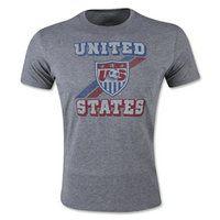 2015 USA Soccer Team Sleeper T-Shirt [B136]