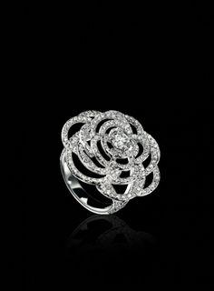 Camelia Ring:: Mademoiselle Chanel\'s favorite flower