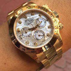 Rolex Daytona full gold and diamond Ref.116508