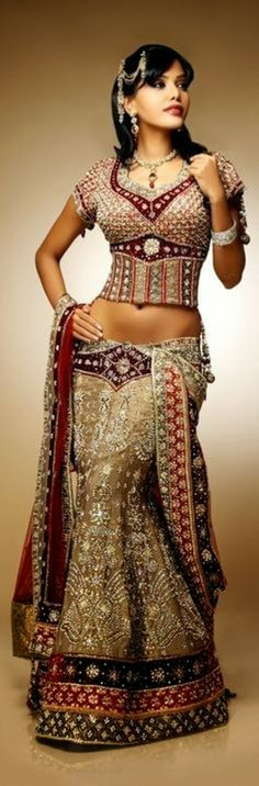 Indian Wedding Dresses 2014 Especially Design for Girls and Women's