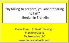 Critical Thinking Quotes, Outer Core, Fails, Coaching, How To Plan, Training, Make Mistakes