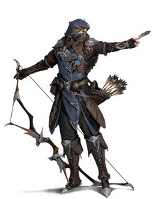 Fantasy Character Design, Character Design Inspiration, Character Concept, Character Art, Archer Characters, Dnd Characters, Fantasy Characters, Dungeons And Dragons Characters, D&d Dungeons And Dragons