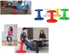 Kids Wobble Chair - Sit without having to sit still