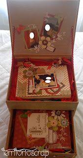 Territorio Scrap: Caja decorada