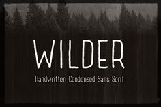 Download Wilder Fonts by dafeld. Subscribe to Envato Elements for unlimited Fonts downloads for a single monthly fee. Subscribe and Download now!