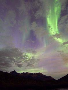 Spectacular auroras 9/10/11 in arctic Norway.