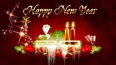 Christmas Wallpapers Free Download: New Year 2014 Greetings Card 3D