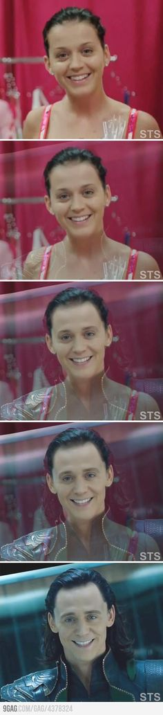 Katy Perry = Loki? Laughing. So. Hard. <---- This!