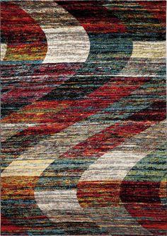 Arabian Sands vloerkleed 120cm x 170cm bont - Robin Design