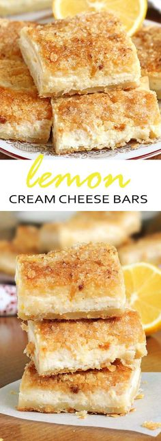 One word describes this easy lemon cream cheese bars recipe — EXCELLENT.