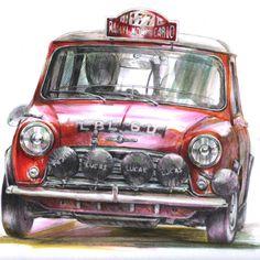 MINI Monte Carlo Rally