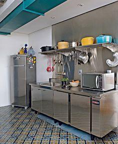 Cozinha em inox
