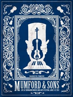 Mumford & Sons Concert Poster