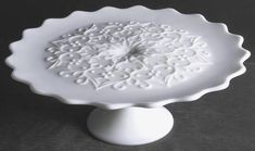 Fenton, Spanish Lace-Milk Glass (No Crest) at Replacements, Ltd