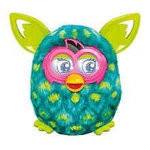 Furby Boom Sunny - Azul e Verde Orelhas Verdes