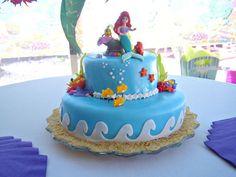 "little mermaid birthday party ideas   ... Mermaid / Birthday ""Little Mermaid Under the Sea""   Catch My Party"