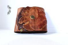 кошелёк портмоне натуральная кожа крокодил бохо ручная работа 4lapki / wallet purse genuine leather crocodile boho handmade