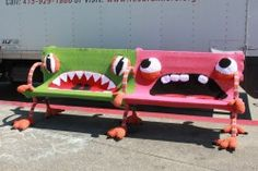 reccashay:  excellent yarn bombs in sf.