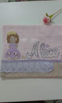 Toalha de boca princesa Alice.