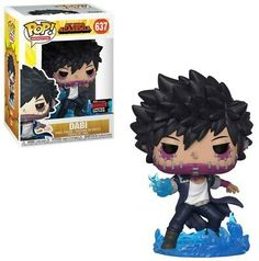 This is a Funko My Hero Academia Funko POP! Animation Dabi Exclusive Vinyl Figure Originally released October Please note that these figures can show minor paint flaws or packaging imperfections. Funko does not consider these defects. Figurine Anime, Pop Figurine, My Hero Academia Merchandise, Anime Merchandise, Pop Vinyl Figures, Anime Pop Figures, Funko Pop Anime, Funko Pop Dolls, Anime W
