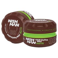 NISH MAN 08 – Ceara mata 150 ml Barber Store, Creative Hairstyles, Professional Hairstyles, Coffee Cans, Shake, Hair Styles, Events, Type, Art