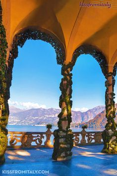 Villa Balbianello is a marvellous place along the banks of lake Como - Schedule a private tour with Kissfromitaly to see it - #ItalyTravel #LuxuryTravel
