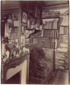 Interior Rue de Vaugirard, Eugene Atget - Paris 1910