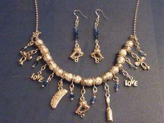 OOAK Hair Stylist's Dream Charm Necklace and by DaKsJewelry
