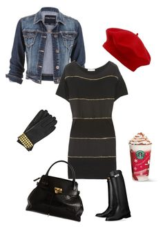 """""""Red Hat"""" by pinkcrema on Polyvore featuring moda, MICHAEL Michael Kors, maurices, See by Chloé, Hermès, Marc Jacobs ve John Lewis"""