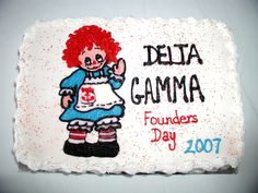 Columbia/Midlands, SC - Founders Day Cake - 2007