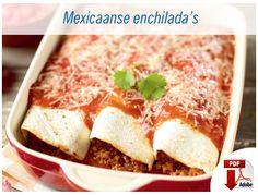 Mexicaanse enchiladas. Recepten - Lidl Belgium