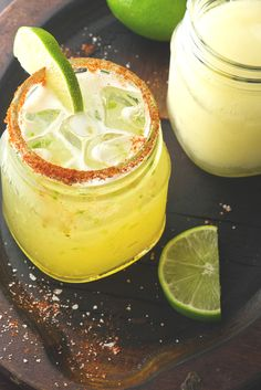 It's #NationalTequilaDay! To make these Mexican-inspired drinks at home, shake ice, Blanco tequila, triple sec, lime juice and pineapple juice in a shaker and then pour it into a glass.