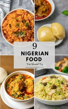 Best Nigerian Food You Should Try - My Active Kitchen Nigeria Food, West African Food, Exotic Food, International Recipes, Tasty Dishes, Ethnic Recipes, African Recipes, Good Food, Yummy Food