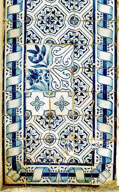 """The tiles that line the walls of Lisbon tell the tale of the city and of Portugal. These tiles were once perfectly ordered and neat. Each predictably after the other. They once were certain and stood confidently facing the sun and the sea."""