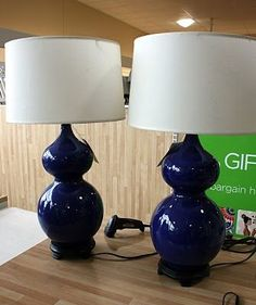 Refinish lamps DIY
