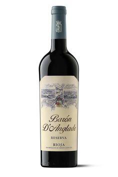 Barón d' Anglade, nuevo diseño, etiqueta, vino Rioja