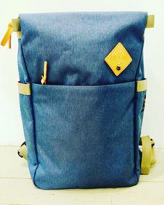 Gorgeous denim blue pack