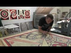 Shepard Fairey spent several weeks in New York in July 2011 and February 2012, creating and printing the works for his forthcoming exhibition at Pace Prints. In this video, he discusses the ideas behind the works and the printmaking processes that he used. All the works were created at the Pace Paper studio and Watanabe Press in Brooklyn.