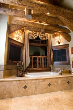 Rustic Bath Design Ideas, Pictures, Remodel and Decor