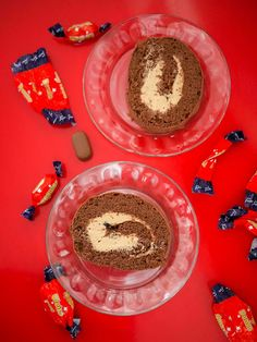 Dumle-kääretorttu - Piparkakkutalon Akka Sweet And Salty, Something Sweet, Healthy Treats, Vegan Desserts, Food Inspiration, Baked Goods, Sweet Tooth, Food And Drink, Yummy Food