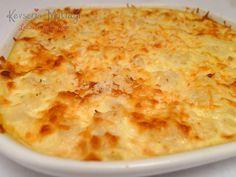 Cauliflower Au Graten Recipe   Turkish Style Cooking
